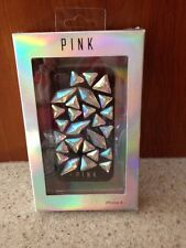 NEW Victoria's Secret PINK Bling GEM Cell Phone Case Holder Apple iPhone 4/4S