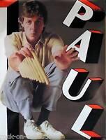 Paul McCartney 1983 Original Jumbo Promo Poster - The Beatles