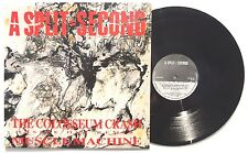 "A SPLIT SECOND: The Colosseum Crash LP ANTLER RECORDS 100 Belgium 1989 12"" NM"