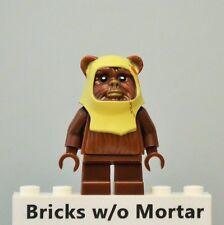 New Genuine LEGO Paploo (Ewok) Minifig Star Wars 8038