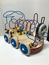 Thomas The Train Toy Bead Maze Rolling Train Large Children Puzzle Learning Fun