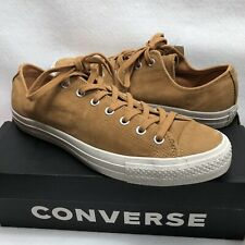 8e536df1da56 Converse Sneakers CTAS Ox Raw Sugar Leather Low Tops Sz 11.5M 13.5W Brand