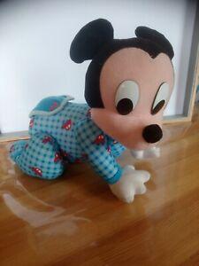 Peluche mickey collector interactive avance à quatre pattes Mattel 1999 vintage