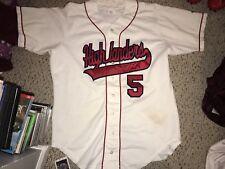 Wilson Radford Highlanders Baseball #5 Button Up Game Worn Jersey Size 44