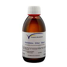Kolloidales Silber 200ml 25ppm im hydrolytischen Braunglas