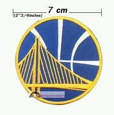 Golden State Warriors NBA Sport Embroidery Logo iron-sewing-patch on fabric
