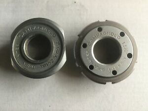 Campagnolo Nuovo Record Bottom Bracket Cups Rifled Unused mod1046