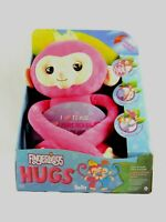 Fingerlings Hugs Bella Pink large Interactive Plush Monkey by WowWee new