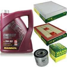 Inspektionspaket 5L MANNOL Energy CombiLL 5W30 Motoröl + MANN Filterset 10768723