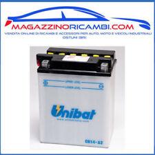 BATTERIA MOTO UNIBAT 12V 14AH CB14A2 = CB14-A2  PER MOTO E SCOOTER