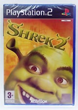 SHREK 2 PS2 PLAYSTATION 2 TWO EUROPEAN PAL BRAND NEW & SEALED