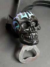Skull Bottle Beverages Opener Brewing Decor Art Gift