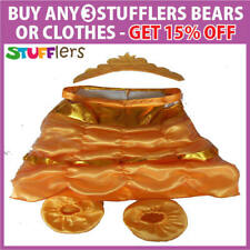 Gold Belle Princess Clothing Outfit by Stufflers – Will fit on a Build a bear