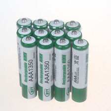 12Pcs Set Batteries AAA 1350mAh Ni-MH BTY Rechargeable Battery for Camera Toys