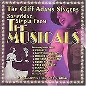 Cliff Adams : Something Simple from the Musicals CD