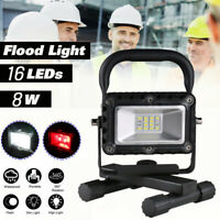 Portable LED Flashlight Rechargeable 2 Modes Emergency Work Light + USB Cable BP