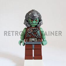 LEGO Minifigures - 1x cas368 - Troll Warrior - Castle Fantasy Era Omino Minifig
