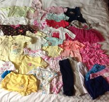 Baby Girls Clothing Size 0-6 Months Lot of 32 Items