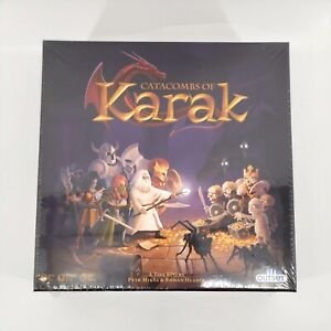 OUTSET Catacombs of Karak Dungeon Crawler Board Game A Tiny RPG