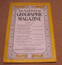 National Geographic January 1948 West Indies Pacific Atoll New World Submarine