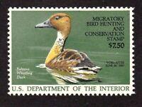 United States Duck Stamp #RW 53, MNH OG , XFS