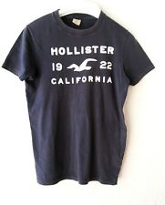 Mens HOLLISTER T SHIRT - SMALL - Navy Blue - Great Condition