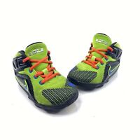 Nike Lebron XII Youth Sz 8c Green Black TD Athletic Sneakers Shoes 685185-009