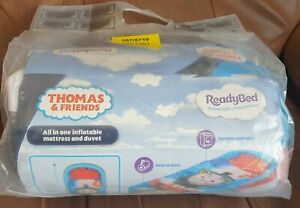 Brand New Thomas The Tank Enginge Kids Ready Bed Air Bed Sleeping Bag
