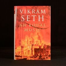 1999 An Equal Music Vikram Seth First Edition Dustwrapper Novel Romance Fiction