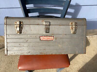 "Vintage Craftsman Tool Box 6512 with Crown Logo 20"" Long Made In USA"