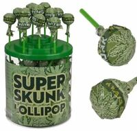 Weed Hemp Lolly Pops Lollies Sweets Super Skunk Lollypop Cannabis NO THC NO HIGH