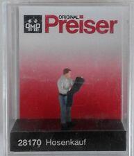 Preiser 28170 Buying Trousers 00/H0 Model Railway Figure