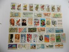 U S   Collection of all used 20 cent comm. stamps off paper-5-20