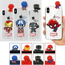 Avengers New Figure Clear Case for Samsung Galaxy Note20 Note10 Note9 Note8 5 4