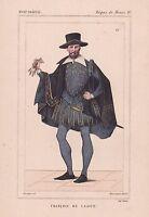 François de Laigue XVIe siècle Règne Henri IV Guerre Ligue Délivrance Marseille
