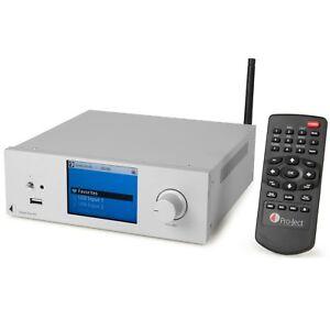 Pro-Ject Stream Box RS HiFi Audio Streamer, Internetradio & D/A-Wandler silber