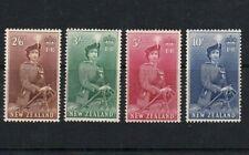 NEW ZEALAND 1954-1957 HIGH VALUE QUEEN ELIZABETH II STAMPS TO TEN SHILLINGS MINT