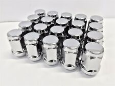 20X CHROME STEEL M12x1.5 Acorn WHEEL NUTS Suit Toyota,holden,