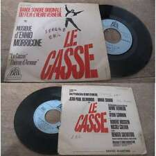 ENNIO MORRICONE - Le Casse French PS 7' OST Henri Verneuil 1971 Belmondo