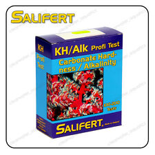 SALIFERT CARBONATE HARDNESS Alkalinity KH Profi TEST KIT Marine Reef Aquarium