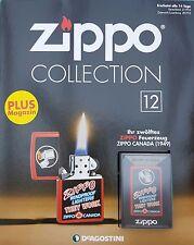 Zippo Collection Nr.12 Sturmfeuerzeug Zippo Canada  never fired !!!