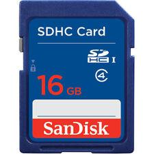 MEMORY CARD SANDISK SDSDB-016G-J35U  SDHC Card CLASS 4 16 GB 16 GO CARTE MEMOIRE