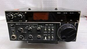 Icom IC-701 100 Watt HF Transceiver.   Tech Special for parts or repair.