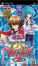 Used PSP Yu-Gi-Oh! Duel Monsters GX Tagforce 2  Japan Import ((Free shipping))、
