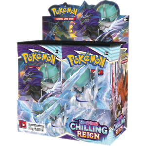 Pokemon: Chilling Reign [Sealed] Booster Box Pre-Order - BOX OF 36 BOOSTER PACKS