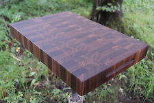 Black Walnut End Cutting Board Butcher Block USA