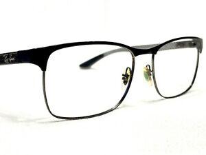 Ray Ban RB8416 2916 Men's Black Carbon Fiber Aviator Eyeglasses Frames 55/17~145