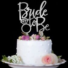 Bride To Be Cake Topper Cupcakes Wedding Engagement Bridal Party Shower Decor