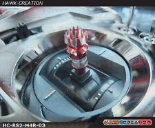 Hawk Creation Anti-Slip Stick Rocker End For JR XG8,11,14 (M4, Red)