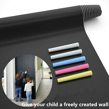 Chalkboard Paint Wall Sticker (6.6FT) Blackboard Paint Chalk Board Contact Paper